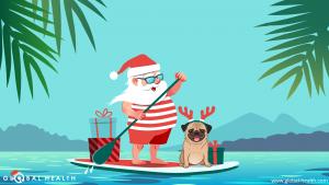 Desktop Santa