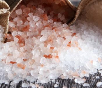 Salt in bag